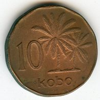 Nigeria 10 Kobo 1991 KM 12 - Nigeria