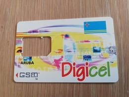 ARUBA  DIGICEL CHIP CARRIER WITHOUT CHIP     ** 884** - Aruba