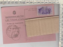 Poste E Telegrafi 1941 Mod. 23-I Regno D'italia - Storia Postale