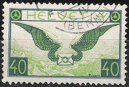 Schweiz Suisse 1929: Flugbrief Ailes Wings Zu Flug 15y Mi 234x Yv PA14a (glatt Lisse) Mit O .....(BERNE) (Zu CHF 130.00 - Usados