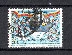 TUNISIE  N° 801    OBLITERE COTE  0.30€     TELECOMMUNICATION - Tunisie (1956-...)