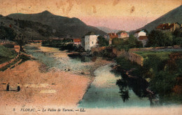 Florac (Lozère) La Vallée De Tarnon - Carte LL Colorisée N° 5 - Florac