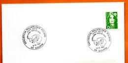 56 GOURIN  EXPO. POLAIRE  SFPP SATA    1991 Lettre Entière N° PQ 266 - Commemorative Postmarks