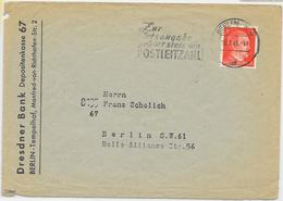 DR Brief EF MI.786 Berlin 15.2.45 - Allemagne