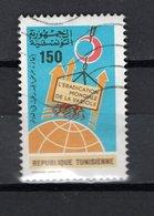 TUNISIE  N° 874    OBLITERE COTE  0.60€     VARIOLE - Tunisie (1956-...)