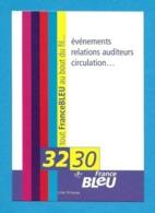 CPM.   Cart'Com.   France Bleu.   Radio.   Postcard. - Publicité