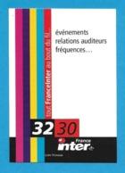 CPM.   Cart'Com.   France Inter.   Radio.   Postcard. - Publicité
