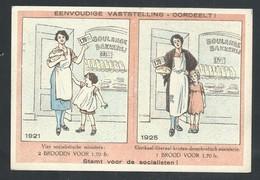 "+++ CPA - Politique - Election - "" Stemt Voor De Socialisten "" - Socialistes - 1921 - 1925  // - Partis Politiques & élections"