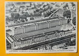 12095 -  Saint-Etienne Vue Des Bâtiments De Manufrance, Carte De La Maison De Marseille - Publicité