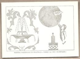 Italia - Cartolina Con Annullo Speciale: Verso La XXII° Olimpiade Di Mosca 1980 - Castel San Pietro Terme (BO) - 1980 - Estate 1980: Mosca