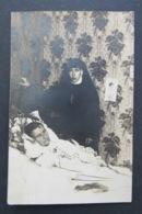 Carte Postale Post Mortem Nun Non Souvenir Bonne Maman Du Soleil 1926 - Otros