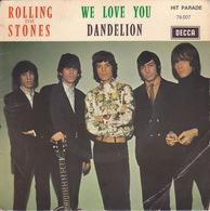 The ROLLING STONES - SP - 45T - Disque Vinyle - We Love You - 79007 - Vinyl-Schallplatten