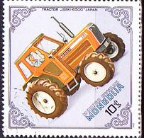 Mongolei - Traktor Iseki-6500, Japan (MiNr: 1498) 1982 - Gest Used Obl - Mongolia