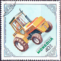Mongolei - Traktor Bonser, Großbritannien (MiNr: 1500) 1982 - Gest Used Obl - Mongolia