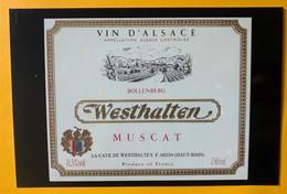 12104 -  Muscat Westhalten Alsace - Publicité