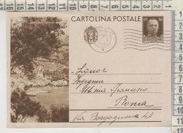 CARTOLINA POSTALE PROPAGANDA TURISTICA CENT. 30 - ARENZANO GENOVA / PANORAMA 1937 - Genova (Genoa)