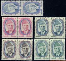 Pakistan 1989 M. Ali Jinnah N° 729 ... MNH Neuf 5 Pairs Of Stamps - Pakistan