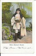 Romania - Portu National Roman - Type De Roumanie - Costume - Circulé - 2 Scans. - Roumanie