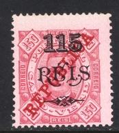 ! ! Cabo Verde - 1915 King Carlos 115 R (Perf. 13 1/2) - Af. 161a - MH - Cape Verde