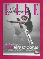 CPM.   Cart'Com.   NIKE Fête La Danse Aux Galeries Lafayette.   Postcard. - Publicité