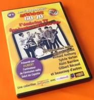 DVD Les Fabuleuses Années 60-70  (2007)  Les Chats Sauvages, Richard Anthony, Sylvie Vartan, Alain Barrière... - Concert Et Musique