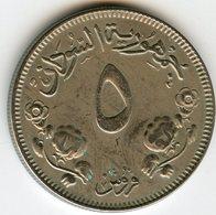 Soudan Sudan 5 Ghirsh 1956 - 1376 KM 34.1 - Soudan