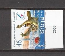 1 SEC  2006 148 SPORT WATERPOLLO  RRR !!!!! SERBIA SRBIJA  LUX  RRR IMPERFORATE  !!!!! SEHR SELTEN - Wasserball