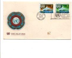 NATIONS UNIES FDC 1964 O MC I - New York – UN Headquarters