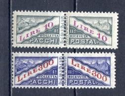 SAN MARINO 1946 - PACCHI  S.704 MNH** - San Marino