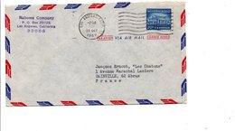 USA ETATS UNIS LETTRE DE LOS ANGELES POUR LA FRANCE 1967 - Vereinigte Staaten