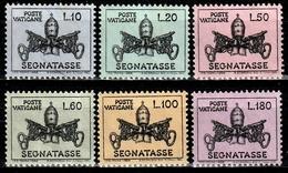 VATICAN T19/24° Armoiries Pontificales De Paul VI (10% De La Cote + 0,25) - Postage Due
