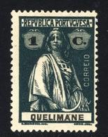 ! ! Quelimane - 1914 Ceres 1 C (pontinhado) - Af. 27 - MH - Quelimane