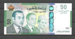 Billet 50 Dhs De SM Le Roi Mohamed VI. (Voir Commentaires) - Marokko