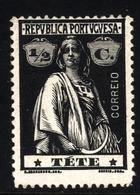 ! ! Tete - 1914 Ceres 1/2 C - Af. 26 - MH - Tete