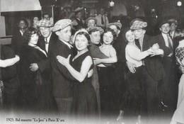 CARTE POSTALE 10CM/15CM (C) DES EDITIONS ATLAS PHOTO ROGER VIOLLET 1925 : BAL MUSETTE POPULAIRE LA JAVA BLEUE PARIS Xème - Danse