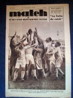 MATCH Intran #543 Sport RUGBY Roanne FOOTBALL Sete BOXE Tenet Pellos 1936 ! - Sin Clasificación
