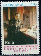 Pakistan 1995 100th Death Anniversary Of Louis Pasteur Médecine 5 RS N° 949 MNH Neuf - Pakistan