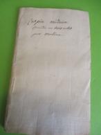 """Fascicule Théâtre/ """" CRISPIN Médecin""""/ M De HAUTEROCHE/ Comédie En Trois  Actes Et En Prose/1770  FAT12 - 1701-1800"""