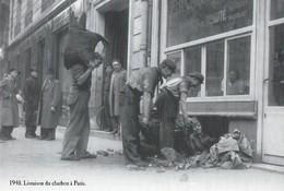 CARTE POSTALE 10CM/15CM (C) DES EDITIONS ATLAS PHOTO ROGER VIOLLET 1940 : UNE LIVRAISON DU CHARBON A PARIS LE BOUGNAT - Marchands