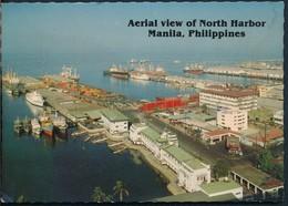 °°° 20511 - PHILIPPINES - AERIAL VIEW OF NORTH HARBOR , MANILA - 1992 °°° - Filippine