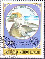 Mongolei - Weddellrobbe (Leptonychotes Weddelli) (MiNr: 1339) 1980 - Gest Used Obl - Mongolia