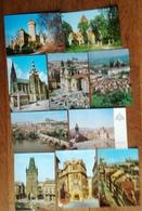TCHEQUIE PRAGUE Lot 16 Cartes CPSM/CPM Comme Neuves Qualité Non écrites - Cartes Postales