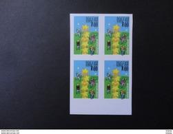Russia 2000 Typographycal Proof/scrap/  Double Print   Europa   VF - Blocs & Feuillets