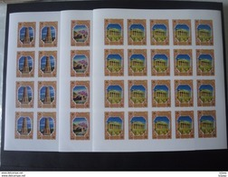 Kyrgyzstan 2005 Anniversary First Europa Stamp IMPERF Set In Sheets MNH RRR CV 320 - 2005