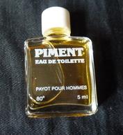 Miniature De Parfum -  Piment De Payot  -réf, P04 - Miniaturas Modernas (desde 1961)