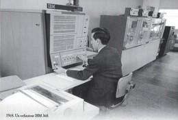 CARTE POSTALE 10CM/15CM (C) DES EDITIONS ATLAS PHOTO ROGER VIOLLET 1968 : LE PREMIER ORDINATEUR COMPATIBLE  IBM 360 - Autres