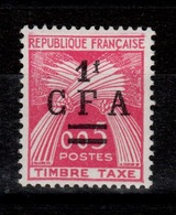 Reunion - Taxe YV 45 N** - Impuestos