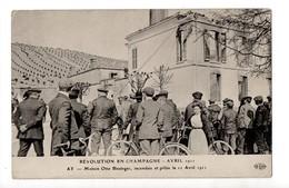 AY - 51 - Marne - Révolution En Champagne - Maison Otto Bissinger En 1911 - Ay En Champagne