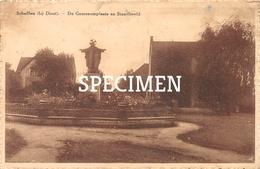 De Gemeenteplaats En Standbeeld - Schaffen Bij Diest - Diest