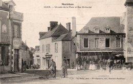 GUER-56-COIN DE LA PLACE-RUE ST GURVAL - Guer Coetquidan